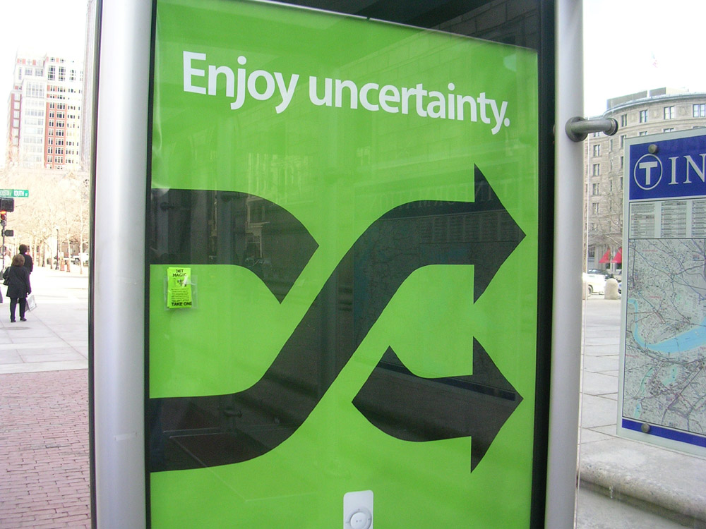 In Praise of Uncertainty (And A Cheat Sheet For Enjoying It More)