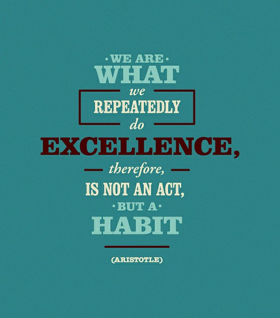 We Are Creatures of Habit, Not Resolutions